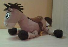 "Authentic Disney Store Exclusive Mc Bullseye Horse Plush 12"" Brown Saddle"