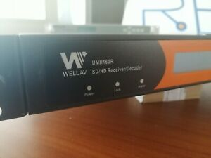 WellAV Intergrated receiver decoder UHM160R