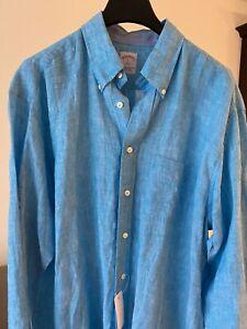 Brooks Brothers Shirt. NwT. 100% linen