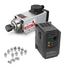 15kw Spindle Motor Vfd Inverter Collet Kit Air Cooling 400hz Cnc Woodworking