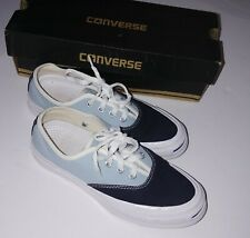 Converse Jack Purcell Sneakers. Used Men Sz 4.5 Navey and light blue