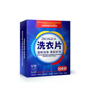120 x Super Concentrated Laundry Clean Sheets Gentle Washing Detergent K6E0