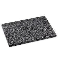 """Home Basics Granite Stone Kitchen Non Slip Cutting Board 12"""" x 16"""" Black & White"""