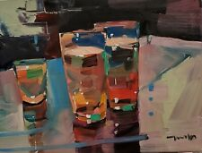 JOSE TRUJILLO Oil Painting 12X16 STILL LIFE CONTEMPORARY IMPRESSIONISM SIGNED