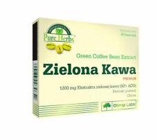 ZIELONA KAWA Green Coffee 30 CAPS. guarana metabolism vitality weight loss