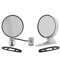 1965 1966 Ford Mustang pair Chrome side Mirrors LH w/ Remote  RH matching  SALE