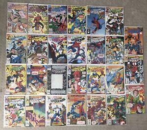 Amazing Spiderman Comic Lot 23 Comics #339-387 Carnage Venom