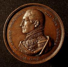 Belgio, Leopold I., bronzo medaglia, di duro, premio agricoli, R!
