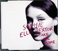 SOPHIE ELLIS BEXTOR TAKE ME HOME 4 TRACK POLYDOR 2001 CD - EXCELLENT - VGC