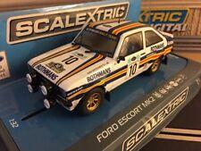 Scalextric Ford Escort MK2 1980 Acropolis Rally No10 C3749 BNIB