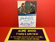 Lost in Space SEASON 1 - DUAL AUTOGRAPH Card MINA SUNDWALL & AJAY FRIESE