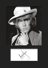 BRIAN JONES #2 (Rolling Stones) Signed A5 Mounted Photo Print - FREE DELIVERY