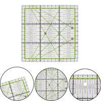 15*15cm Transparent quilting sewing patchwork ruler cutting tool tailor DIY JH