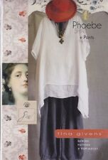 PATTERN - Phoebe Shirt & Pants - women's sewing PATTERN from Tina Givens
