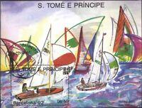 Sao Tome e príncipe Bloque 195 (edición completa) usado