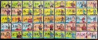 1968-69 Topps Hockey 46 Card Lot in VG-EX Condition Great Starter Set