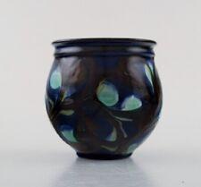 Kähler, Denmark. Vase in glazed ceramics. 1930/40s