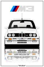 A3 BMW E30 EVOLUTION 1 POSTER BROCHURE PICTURE WALL ART PRINT