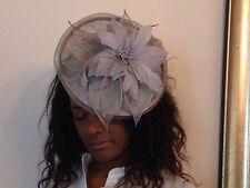 New Church, Derby, Wedding, Sinamay Fascinator Dress Hat