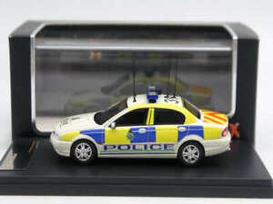1:43 Premium X Jaguar X-Type Merseyside Police 2004 White PR0343 Resin Model Car
