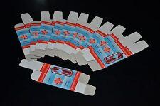 10 pcs TELEFUNKEN Tube Boxes for Audio tubes ECC81-ECC88, E88CC E188CC ECC803S