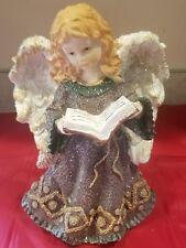 "Carved Resin 10"" Angel Sparkle From Kirkland's"