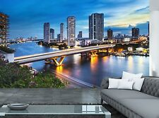 City Skyline- Bangkok Wall Mural Photo Wallpaper GIANT WALL DECOR Paper Poster