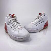 DS Nike Air Jordan Ol' School Sz 9 White Red Rare Promo Sample Basketball Shoes