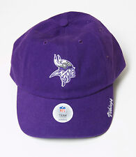 Minnesota Vikings Women's Cap Official NFL Team Headware Adjustable Hat Sequins