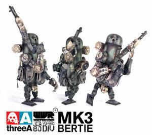ThreeA WWRp JEA Bertie Mk3 // Ashley Wood 3A 1/12 Vinyl Armstrong Caesar TK AK