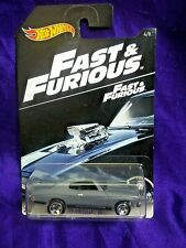 Hot Wheels Fast & Furious Die-Cast '70 Chevelle SS #4/8 Movie Car 1:64 Scale
