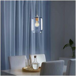 Ikea Klovan Pendant Lamp Shade 203.940.96 Clear Glass