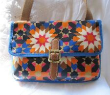 #LONGLIVEVINTAGE NEW FOSSIL CROSSBODY GEOMETRIC FLOWERS