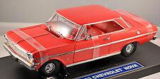 Chevrolet Nova Ss SERIE 400 CHEVY II Coupè 1963 Rosso Rosso 1:18 SUN STAR