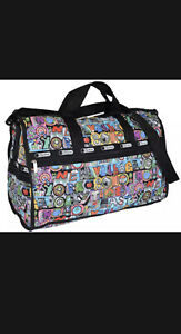 LeSportsac Large Weekender NYC New York Duffle Bag Exclusive