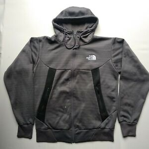 The North Face vintage Men's Hoodie Jacket Full Zip Size Small S Black