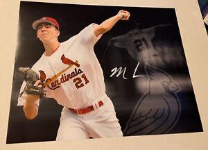 MATTHEW LIBERATORE St. Louis Cardinals Signed 11x14