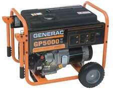 Home Generators Portable GENERAC 5000 Rated Watts Model# 2ZMF5