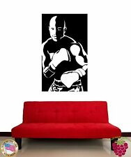 Wall Stickers Vinyl Decal Box Boxer Martial Arts Black and White (z1195)