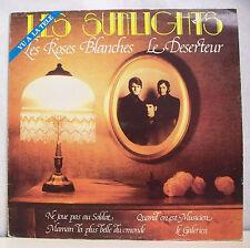 33T LES SUNLIGHTS Disque LP LES ROSES BLANCHES - LE DESERTEUR - AQUARIUS 10020