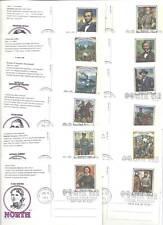 UX200-19 Civil War Picture Post Card Artmaster FDCs