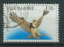 Suriname Briefmarken 1986 Vögel Mi 1187