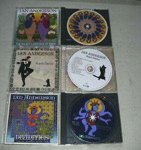 IAN ANDERSON - 3 CD`s   kleine Sammlung