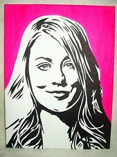Canvas Painting The Big Bang Theory Penny Pink Art 16x12 inch Acrylic