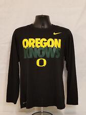 Oregon DUCKS Basketball NIKE Oregon Knows SHOOTING SHIRT Warm Up Men's SMALL