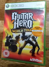 Guitar Hero World Tour Microsoft Xbox 360 en vivo