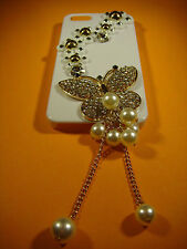 DIY Bling Butterfly Decoration for iPhone 4/5/6 Samsung Galaxy S3/S4/S5 etc.