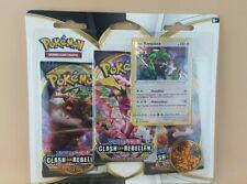 Pokemon Pokémon SW/SH Clash der Rebellen 3er Blister Rayquaza *Neu* und *OvP*
