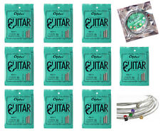 10 Sets Orphee RX17 Nickel Alloy Colorful Ball Electric Guitar Strings (010-046)