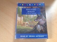 Brian Jacques Audiobook 2 Cassettes 3 Hours MARLFOX read by the author